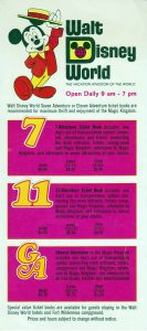 1972 WDW Info Card (Front)