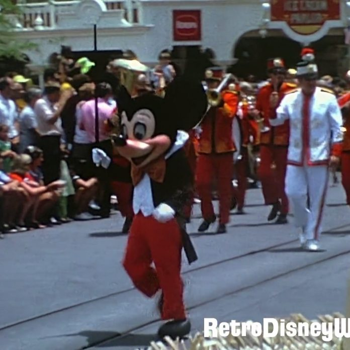 1972 Super8 Magic Kingdom Parade – Restored in HD – Home Movie