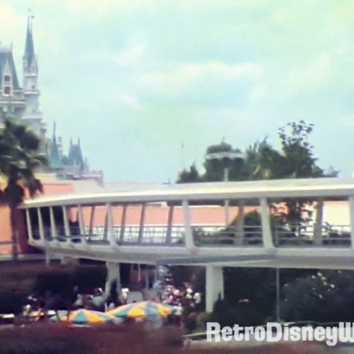 1975 Super8 Magic Kingdom – Restored in HD – Tomorrowland Bliss & Swan Boats