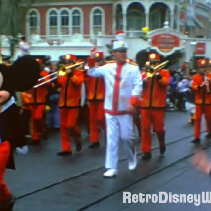 1974 Magic Kingdom Parade – Restored Super8 with Sound in HD