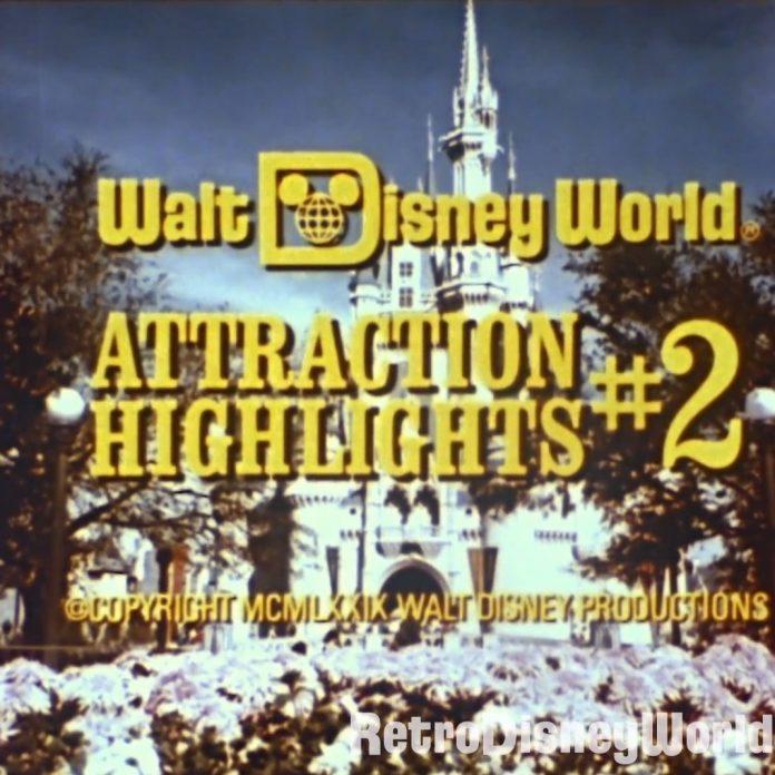 Restored souvenir film from 1979 – Attraction Highlights #2