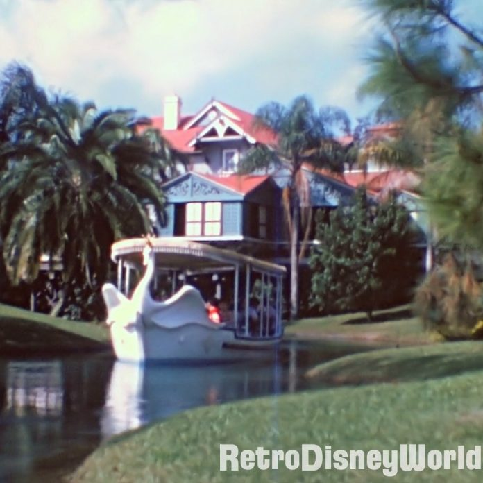 Swan Boats and Adventureland Steel Drum Band in '75 Style