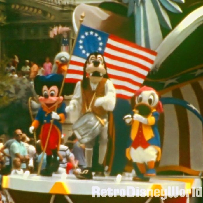 Double Feature Monday – '72 Magic Kingdom and '75 Parades Restored HD