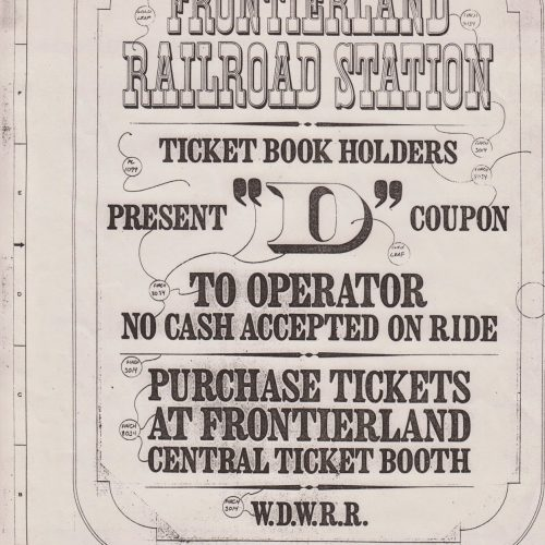 Frontierland RR Station.