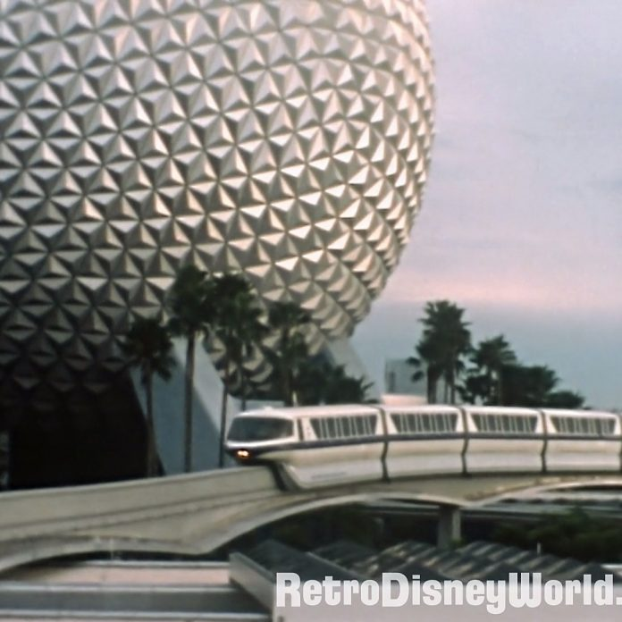 Dateline: October 14, 1982 – EPCOT Center – Silent 8mm film with Horizons Construction