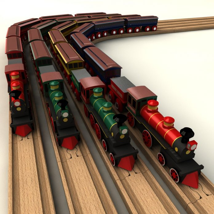 Trains, Trains and More Trains