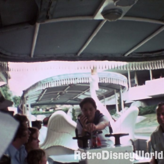 Remastered 1976 Magic Kingdom Swan Boats and More – Restored Film