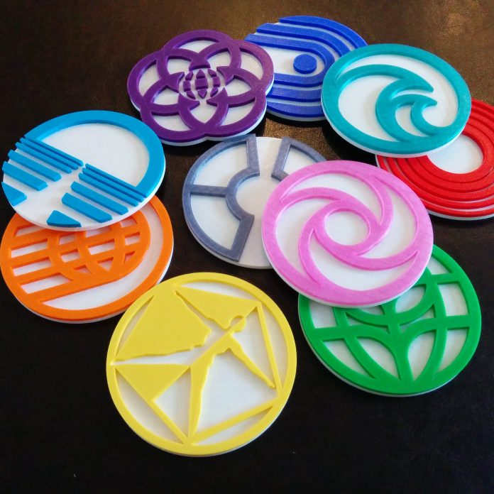 Prototype Coasters