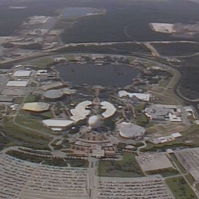 Rare EPCOT Center B-Roll Video – Part 1 of 11
