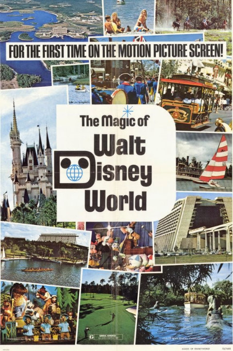The Magic of Walt Disney World Poster