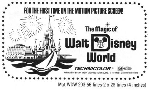 The Magic of Walt Disney World in Technicolor