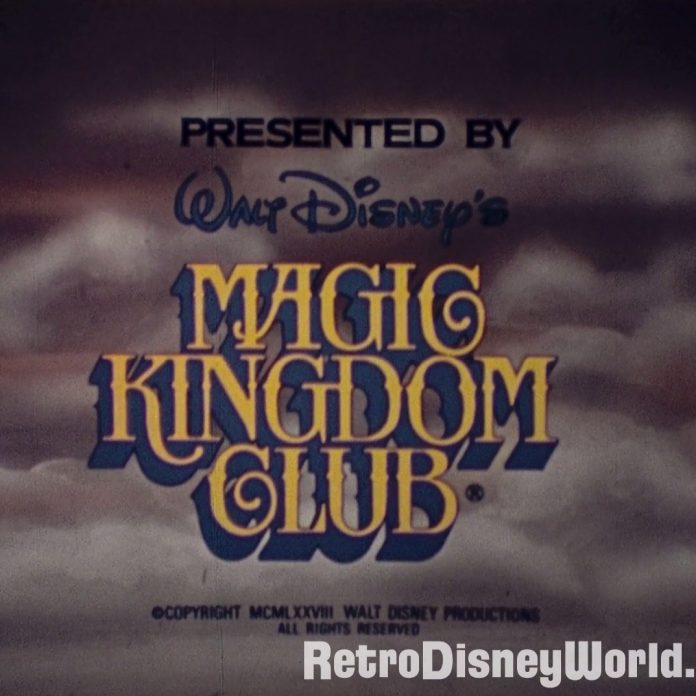 Magic Kingdom Club – 1980 Update – 16mm restored Film