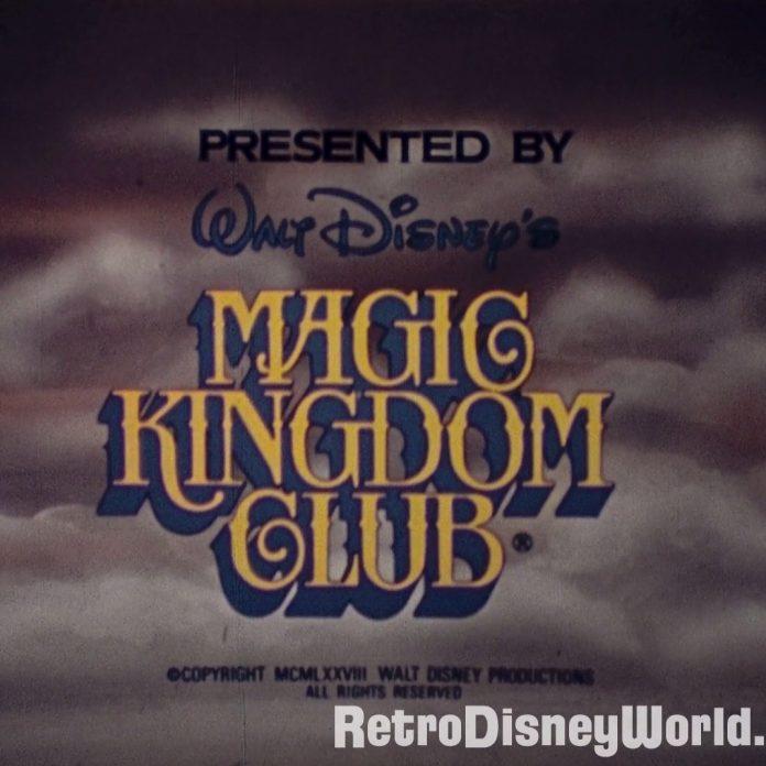 Magic Kingdom Club – 1980 Update – 16mm restored Film