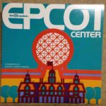 Early 1980s EPCOT Center Map front cover