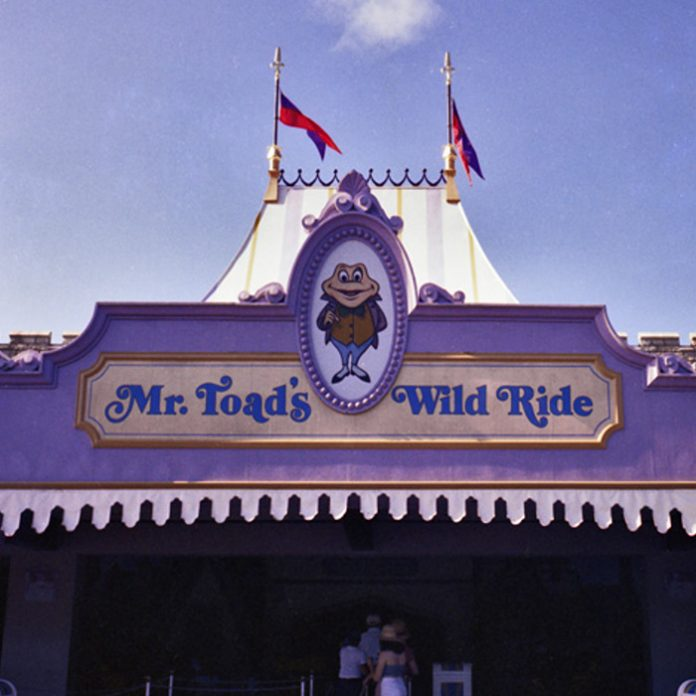 Take audio trip though Mr. Toad's Wild Ride & other Fantasyland recordings