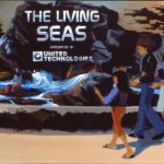 The Living Seas Entrance Area Concept Art