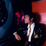 Michael Jackson enjoys Horizons at EPCOT Center