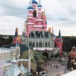 Back of Cinderella's Castle during WDW's 25th anniversary/Birthday celebration in 1997