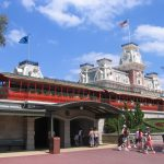 WDW Railroad Main Street USA Station