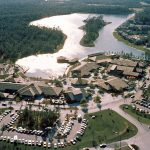 Lake Buena Vista Shopping Village Aerial Photo (1976)