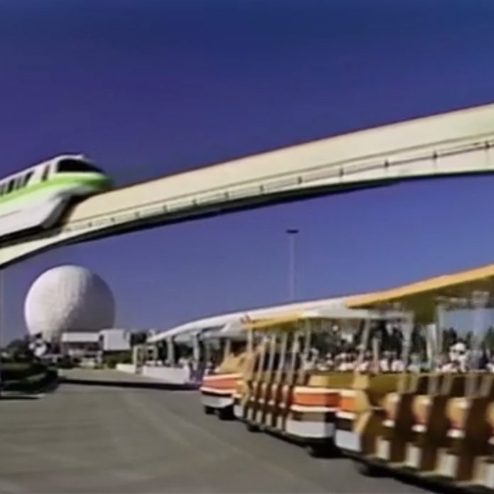EPCOT Center B-Roll Video – Future World 1 of 3