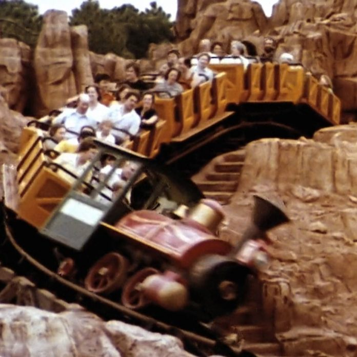 Big Thunder Mountain Railroad like you've never seen it before! POV – RARE Restored Souvenir Film