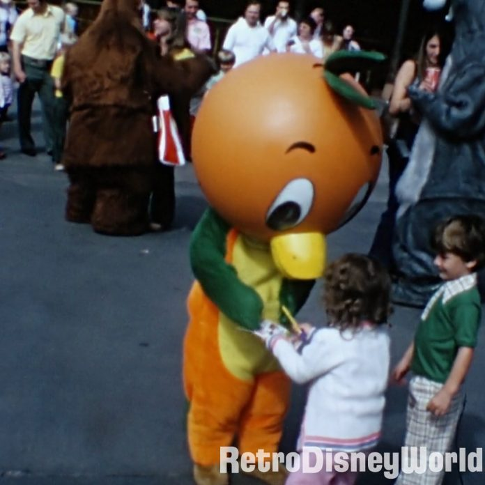 Holy Grail Found! Orange Bird meet and greet home movie from Oct '74