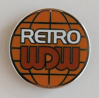 RetroWDW Collector's Pin