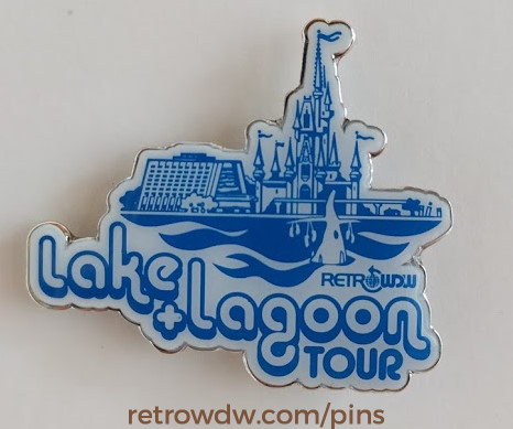 RDW 2016 Lake & Lagoon Tour Limited Edition Pin