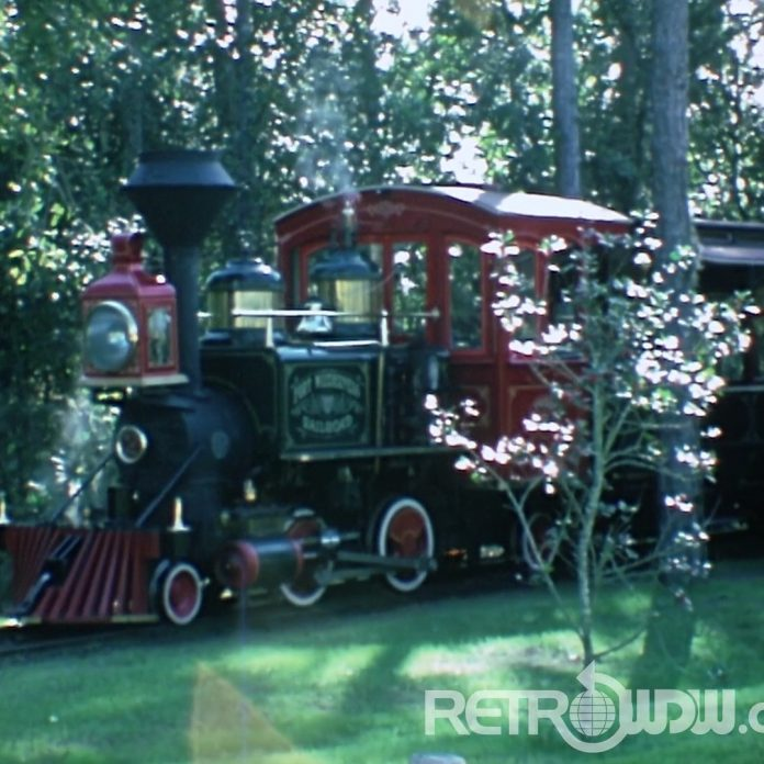 Art and Linda go to Fort Wilderness; Including FW Railroad! – Restored Super8 Film