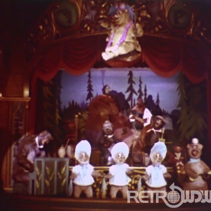 Country Bear Jamboree – Restored 8mm Souvenir Film