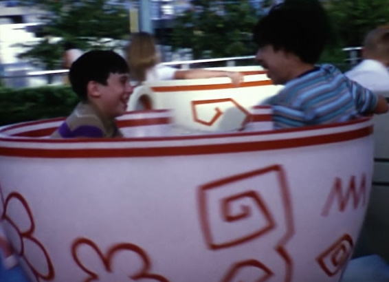 Home Movie: Jack and Elliot Gottlieb at the Magic Kingdom – Sept 1972