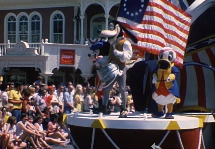 Colorful and Patriotic Magic Kingdom from '76 – Home Movie