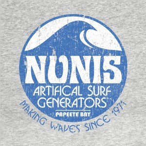 Dick Nunis's Artificial Surf Generators (WDW Wave Machine) T-shirt Design