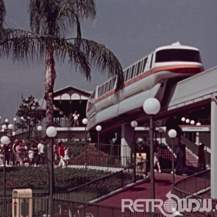 Rare 16mm Walt Disney World Promotional Film