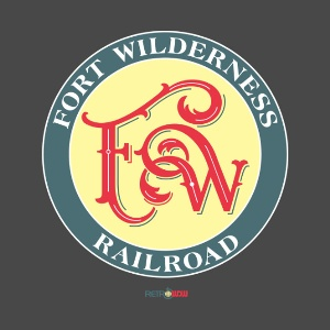 Fort Wilderness Railroad T-shirt Design
