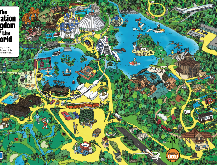 Get your own copy of RetroWDW's Vacation Kingdom of the World Map!