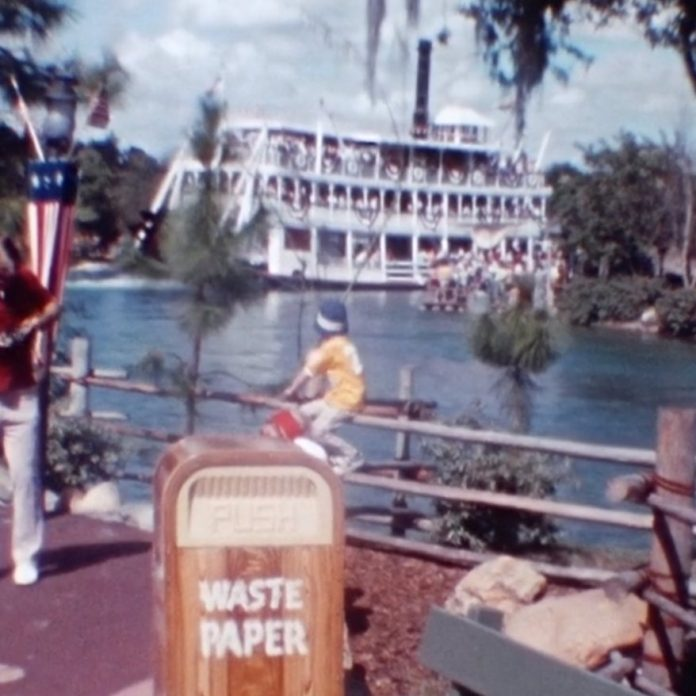 Home Movie: A Patriotic Day at the Magic Kingdom – March 1976