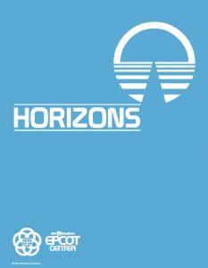 1983 Horizons Cast Member Guide (EPCOT)