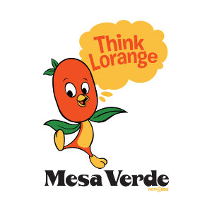 Think Lorange Orange Bird Epcot Horizons Mesa Verde T-shirt Design