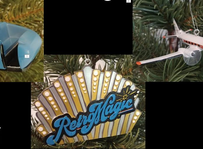 RetroMagic Holiday Ornament Set Available!