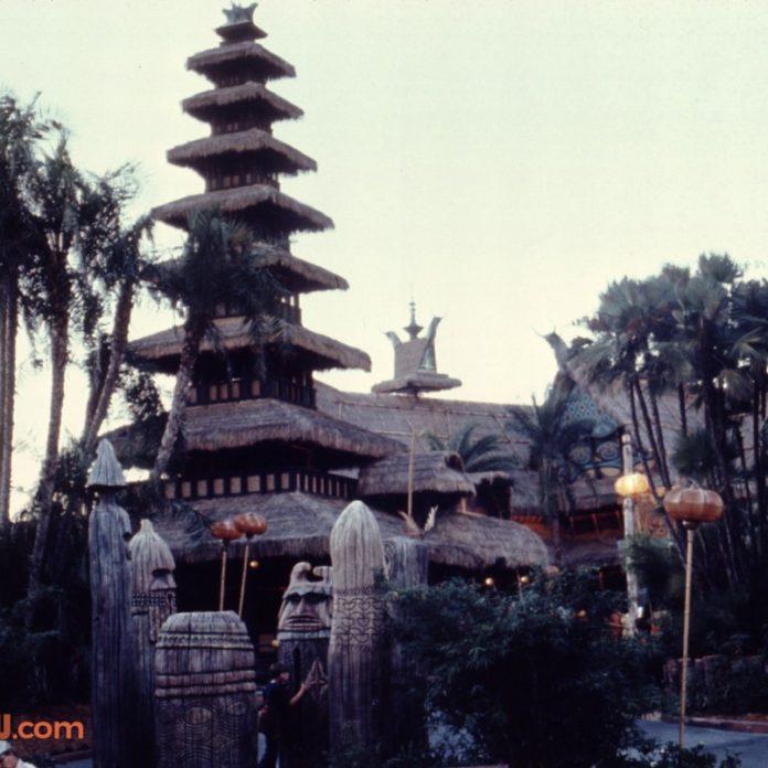 Rare Glimpses of December 1971 Walt Disney World