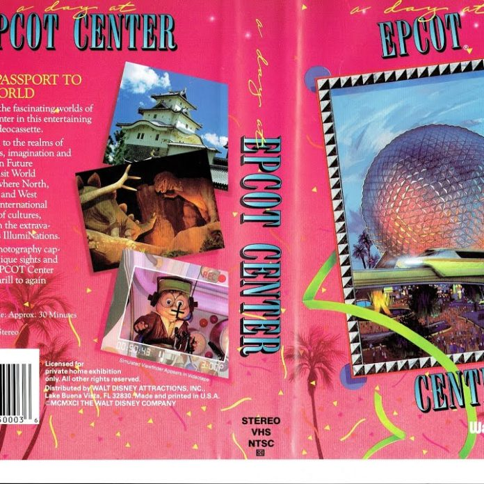 A Day at EPCOT Center – 1991 – AI Enhanced VHS Tape