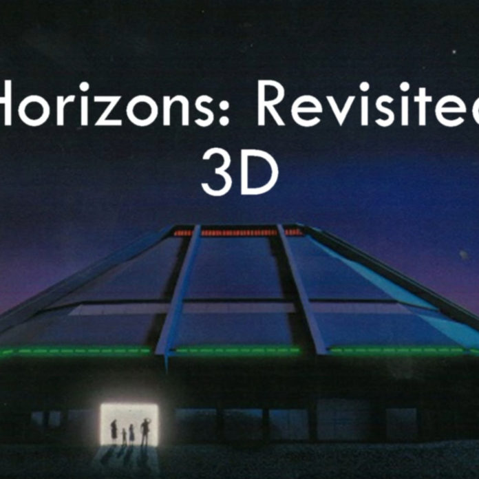 Horizons: Revisited 3D – HD Wide Angle 3D Ride Through