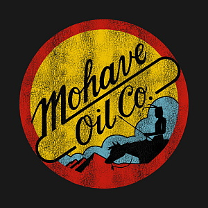 Disney-MGM Studios Catastrophe Canyon's Mohave Oil Company Logo T-shirt Design