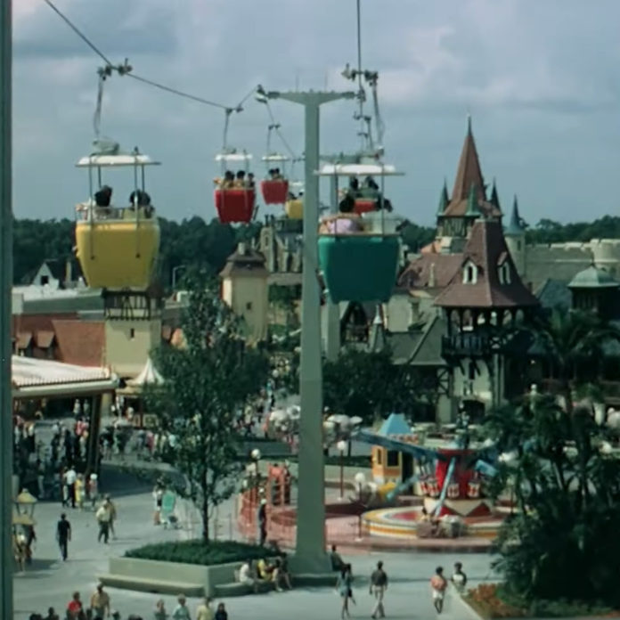 Magic Kingdom in Glorious 16mm Film – 1970 & 1971