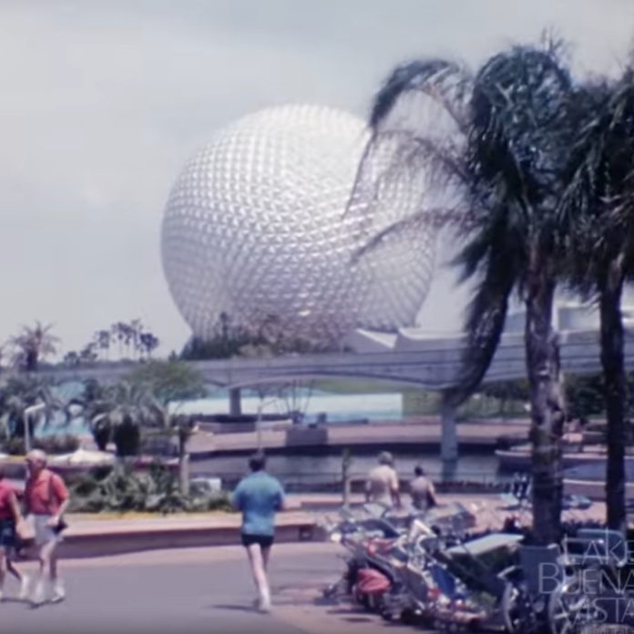 EPCOT Center 1980s Super8 Film with Sound