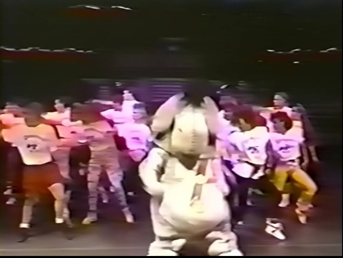 Captain Eeyore – 1987 Cast Member Production