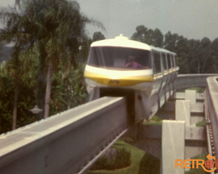 Early 1970s Monorail Ride on the Resort Beam
