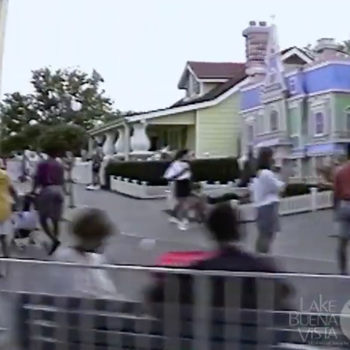 Home video: POV Walt Disney World Railroad – 1992